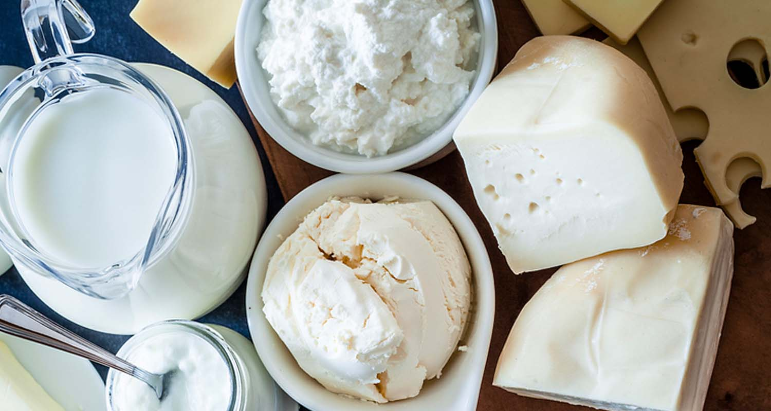 Foods That Cause Gas - dairy