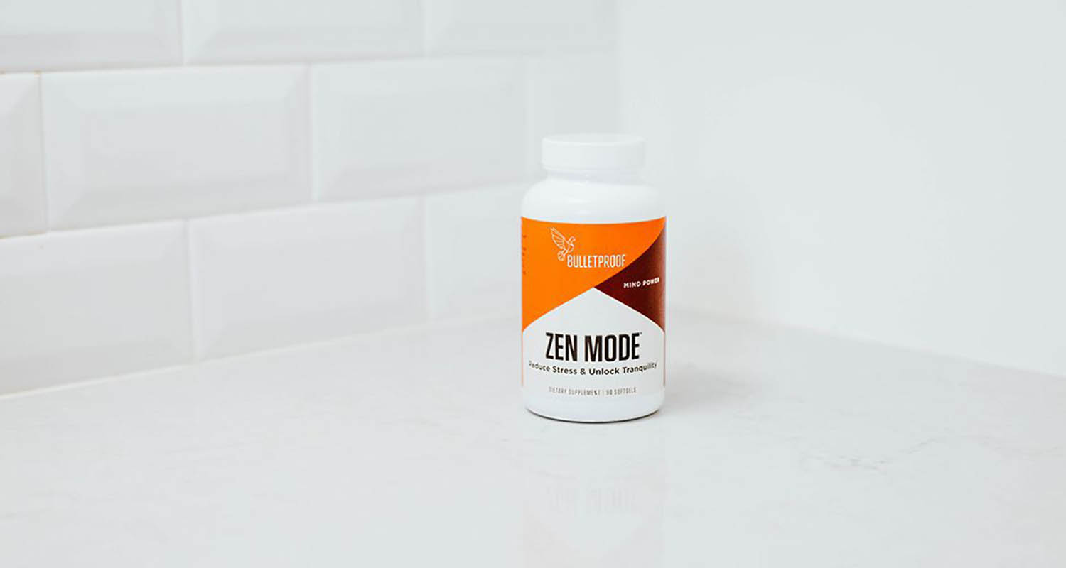 picture of Zen Mode: a bulletproof supplement that includes L-theanine
